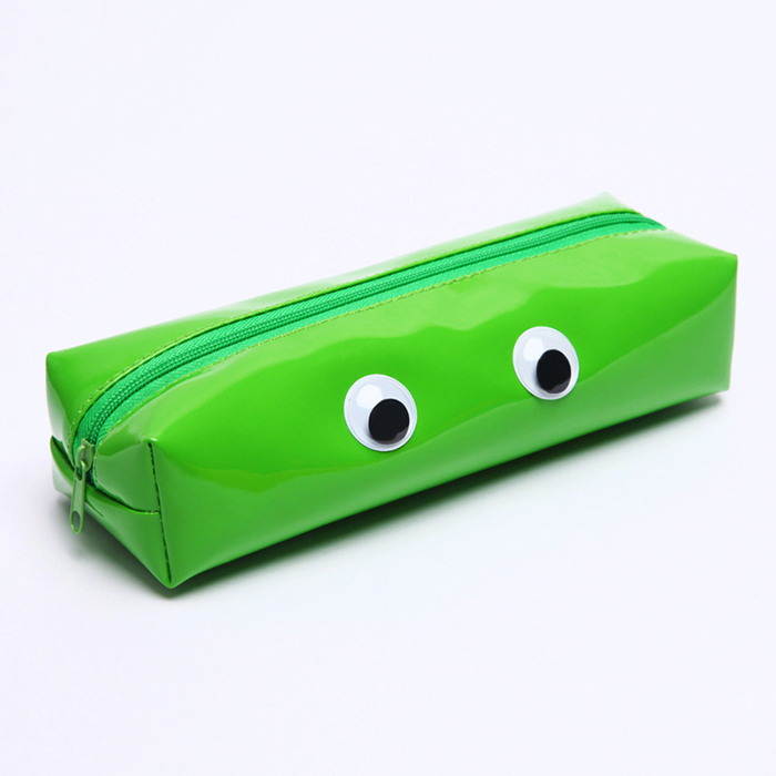 Licheng BXN84 Special Wiggle Eyes Cute Cheap Kids Pencil Case for School