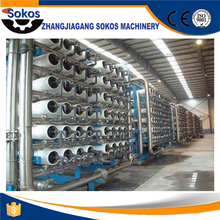 Large scale with 12000L/H water treatment equipment sea water RO water treatment system plant price
