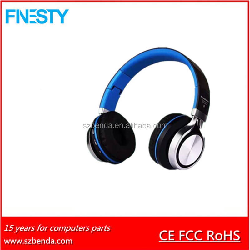 2017 Custom Logo Bluetooth Headphones Wholesale Wireless Stereo
