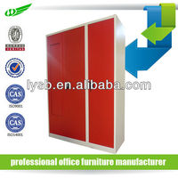 Durable powder coated steel storage lockers/ locker box knocked down stucture