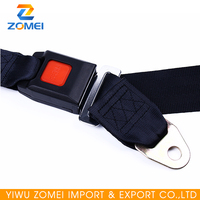 Universal Interior Accessories black Car Safety Belts