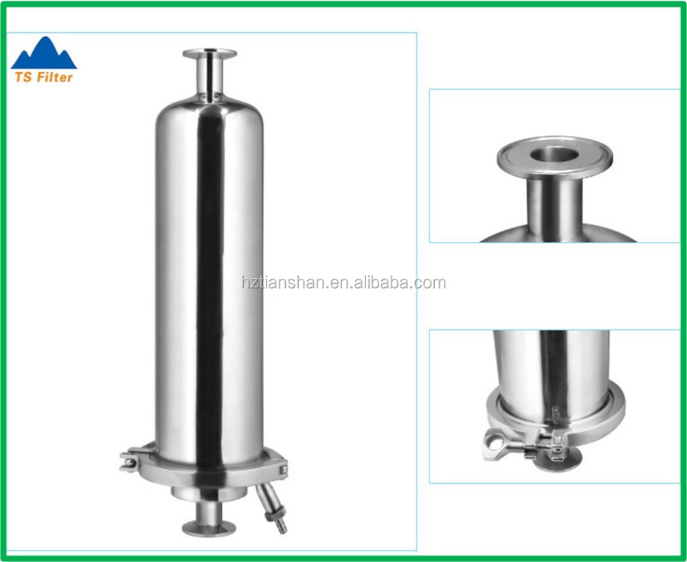 Stainless Steel 6 Inch Inline Fan : Inch stainless steel inline filter housing for