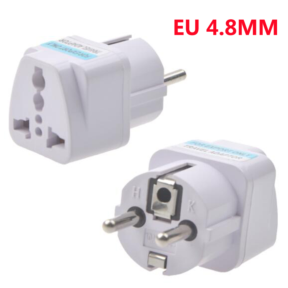 EU plug Charging Adapter Charger Wholesale UK US AU to EU AC Power Plug Travel Charger Adapter Outlet Converter