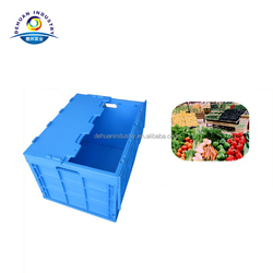 Plastic Foldable container, Fold up Plastic Boxes, Folding Turnover Box
