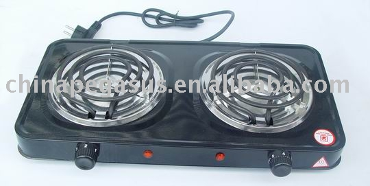 electric Double hot plate electric stove TM---HD06