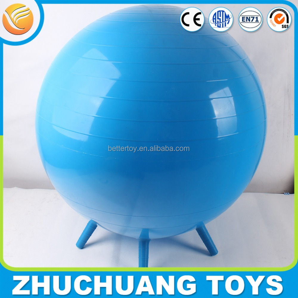 wholesale body bouncy sport exercise ball with handle
