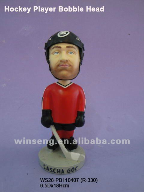 polyresin Man bobble head