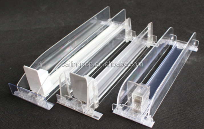 Cigarette display retail shelf pusher