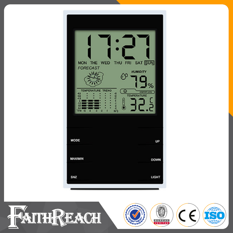 Multi-purpose Jumbo Display Clock Digital Alarm Thermometer