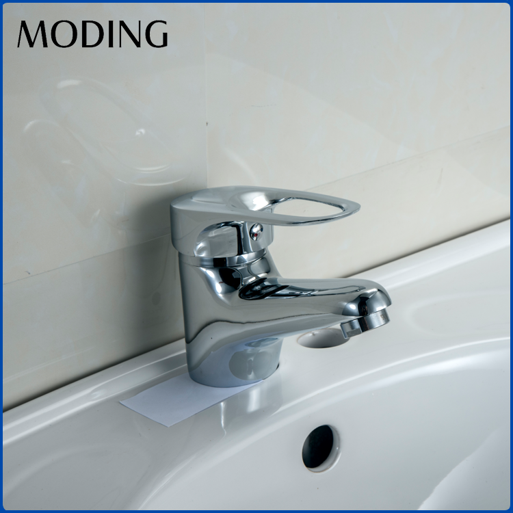 MODING Luxury Fancy 1 Hole Deck Mounted Zinc Alloy Bathroom Basin Faucet Taps And Mixers