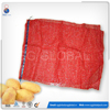 Packing Onion PE Raschel Small Drawstring Mesh Bag
