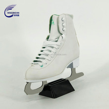 2018 OEM Made in China 35-47 fancy PVC shoes ice skate