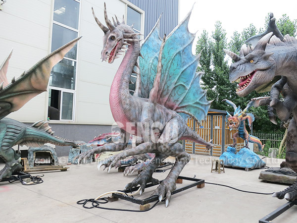 Lifesize Moving Dragon Supplier Animatronic Dragon