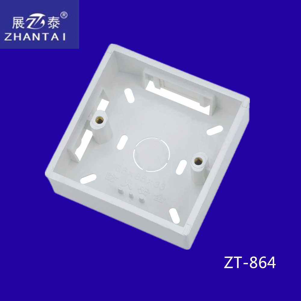 2015 Hot Sale PVC Electrical Connection box Wall Switch box Factory