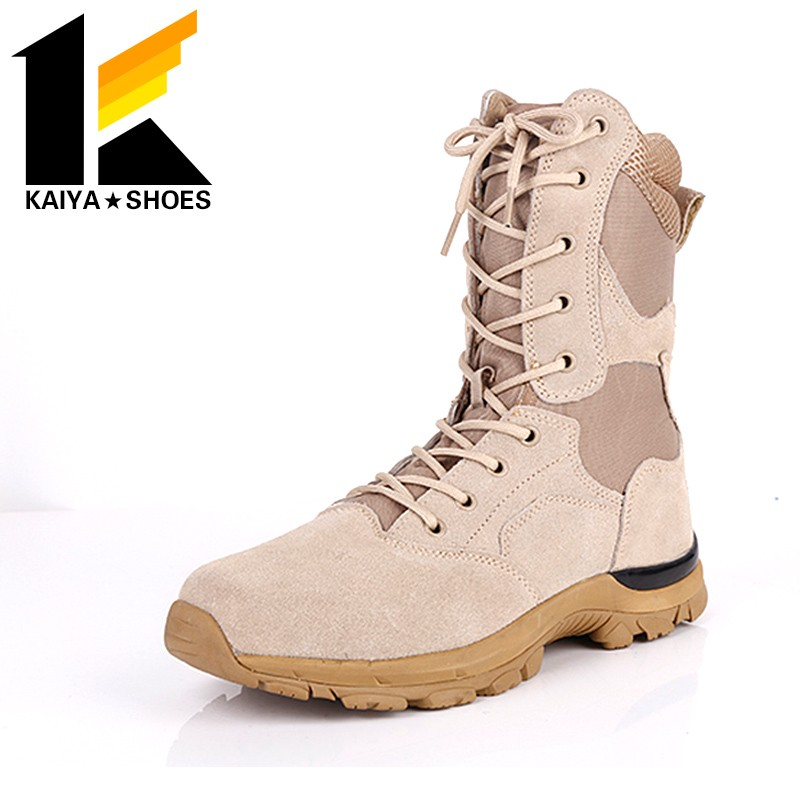 suede leather desert boots hot sale in tropical climate