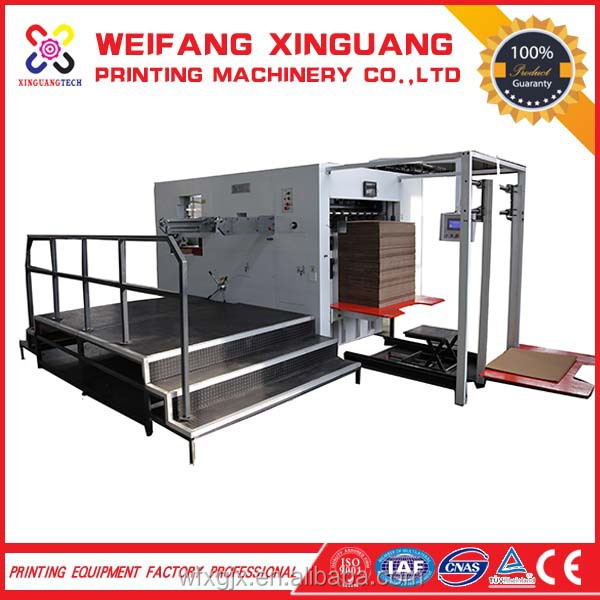 1300*1000mm semi-auto corrugated paper die cutter used for all kinds of box
