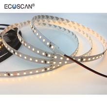 Ecoscan SMD2835 DC12V DC24V 120leds/m 16W/m IP20 IP67 decorative modern lighting led strip