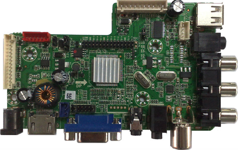 TV Mother Board Compatible With SAMSUNG, CMO, AU, LGP,SHARP,BOE