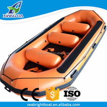 CE Certification and PVC Hull Material Heavy Duty River Rafting Inflatable Rescue Boat for Sale