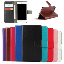 Hot Crazy Horse Texture Flip Leather Wallet Case for iPhone 8,for Apple iPhone8 PU Leather Cover