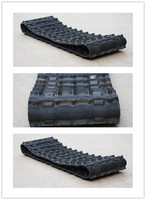 snowmobile rubber tracks replacement parts china