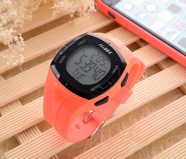 Cheap Portable Electronic Sport Watch Pedometer Fitness Tracker Backlight Water Resistant