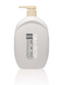 650ml PE shampoo bottle with lotion pump