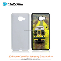 High quality sublimation phone cover for Samsung A710,diy tpu phone case