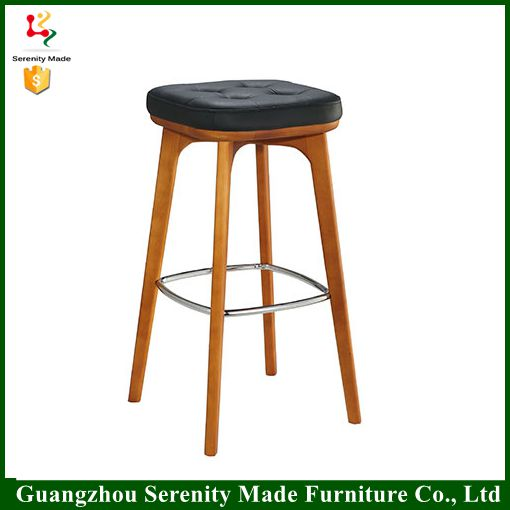 2016 popular wooden rubber ring bar stool footrest covers