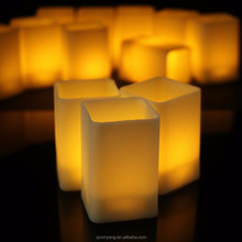 Yellow Flickering Cheap Halloween Party Led Tea Lights For Decorate