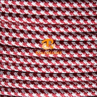 UL Listed 18AWG Cloth Covered Wire Pendant Hanging Light Lamp Cord Fabric Electrical Wire Textile Cable