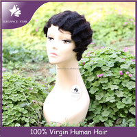 hot sale could be dyed or bleached real hair wig