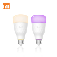 xiaomi yeelight E26/E27 10W indoor remote wireless voice&APP control Smart LED bulb lights alexa google with changing color