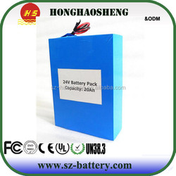 Long life high performance lithium ion 24V 60AH battery