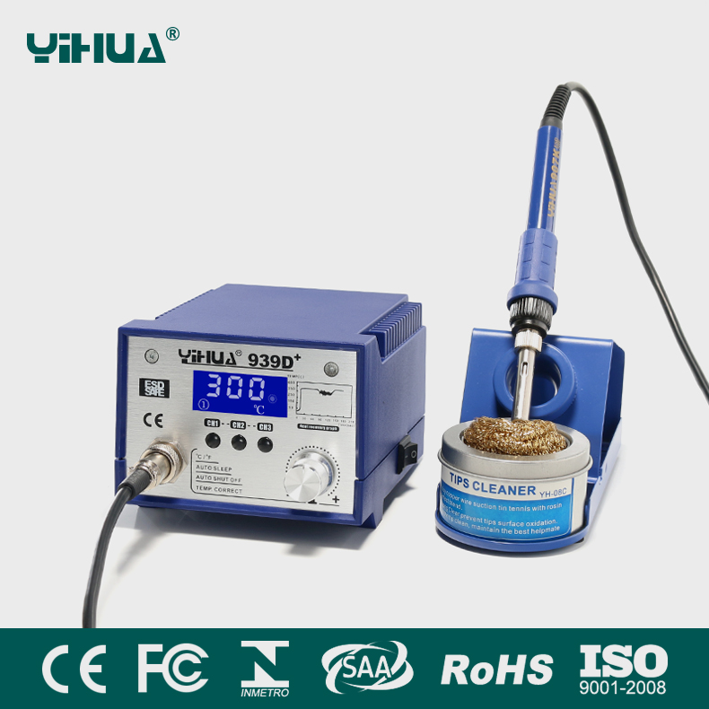 YIHUA 939D+ Soldering Station For Motherboard For Laptop Samsung Repair