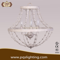 Popular brief white chandelier pendant light for decoration