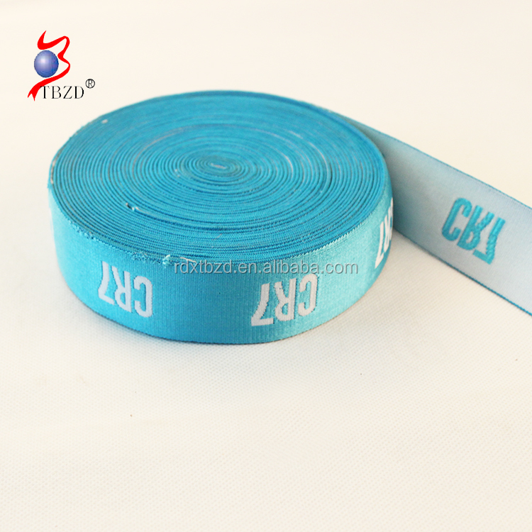 Fashionable custom woven fancy elastic band with low price