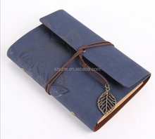 pu leather cover executive dairy A5 vintage notebook