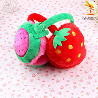 New Hot Children Kids Girls Boys Fruit Shaped Warm Earmuff