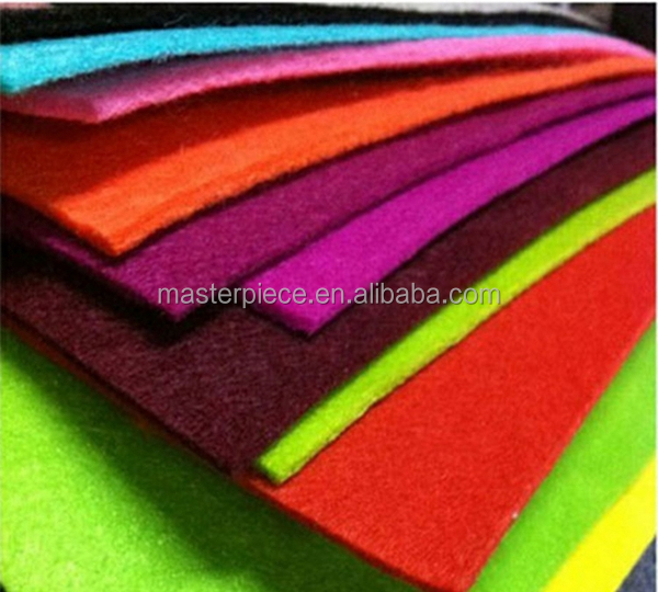 Colorful/Natural 3mm Wool Felt