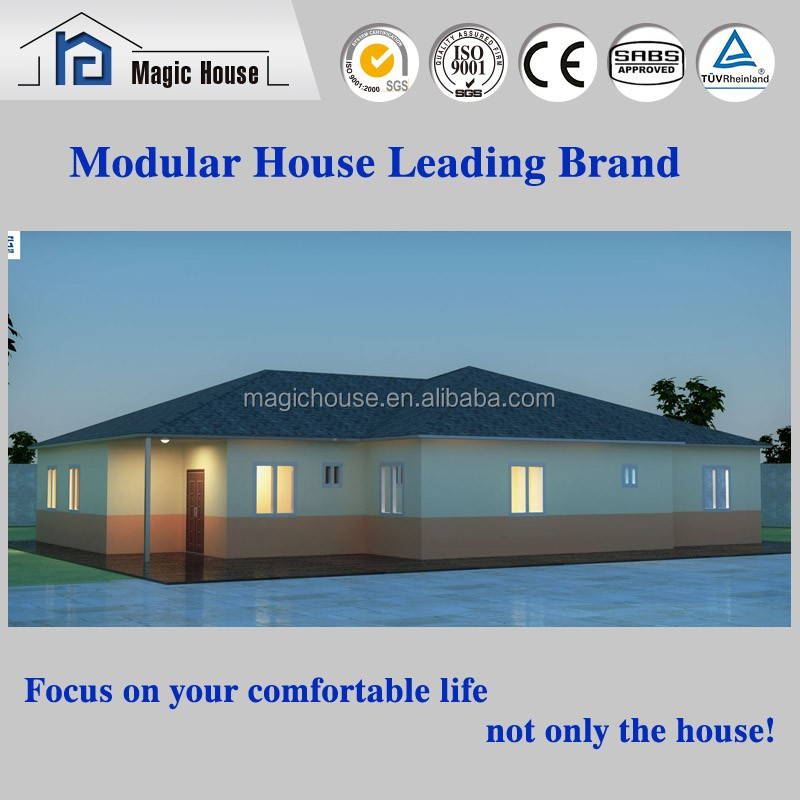 2016 Australian Standard Modular Luxury Prefabricated Steel Frame Houses/Villa/Homes