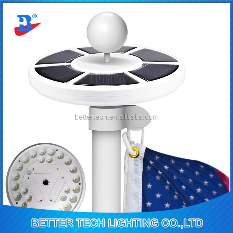 Solar Lamp Amazon Hot Selling Garden Flagpole Solar Light Camping Solar Tent Light