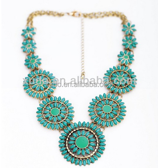 fashion women statement necklace wholesale