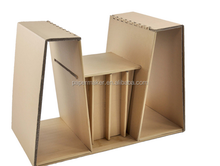Folding paper chair reading room waiting room chairs