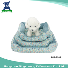 Fashion luxury warmful pet dog beds with super soft fabric