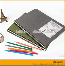 School Stationery A4/ A5 Promotional Customized spiral hardcover notebook