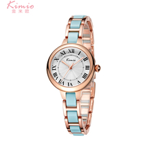 KIMIO 6150 2017 Hot Sale Famous Brand Kimio Luxury Watch Women Small Quartz-watch Ceramic Band Fashion Ladies Bracelet Watches