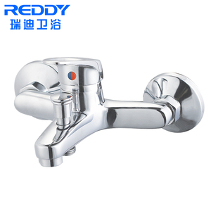 Traditional antique shower set single handle bathroom shower tap faucets without slide bar