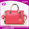 Online shopping PU leather women Handbag New Design Boston Pillow Bag Bucket Bag