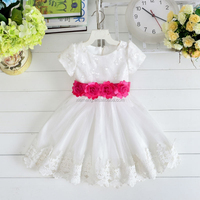 baby dress frock white casual girl dress short sleeve baby girl frock patterns
